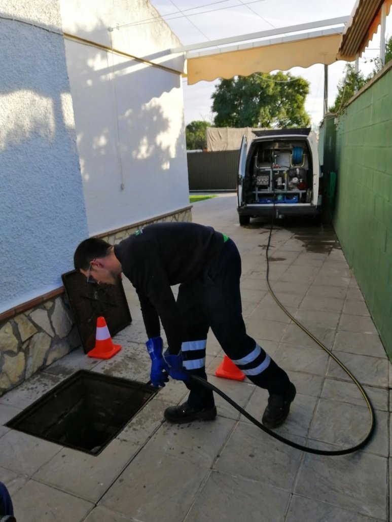 Trabajo de humedades en sevilla